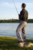 Après la pêche de travail photo libre de droits