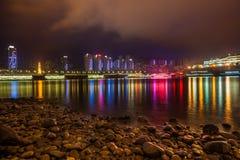 Nuit à Chongqing Image libre de droits