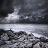 Après la tempête Photo stock