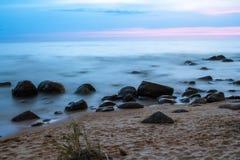Après le coucher du soleil Images stock