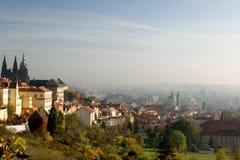 Après-midi à Prague Photo libre de droits