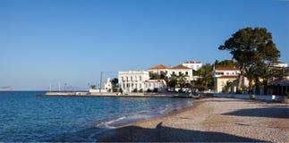 Après-midi d'automne sur Spetses Photo stock