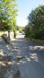 Après-midi dans Gordes les Frances de Luberon Image libre de droits