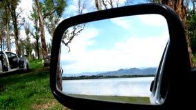 Après-midi dans la lagune Photos libres de droits