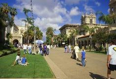 Après-midi en stationnement de balboa Image libre de droits
