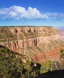 Après-midi ensoleillé chez Grand Canyon Images libres de droits