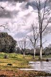 Après-midi pluvieux Image stock