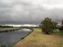 Après pluie Image stock