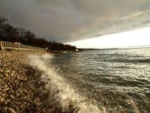Après tempête Photo stock