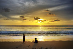 Après tsunami Images libres de droits