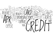 Apr Credit Cards Tips Tricks Word Cloud Stock Photography