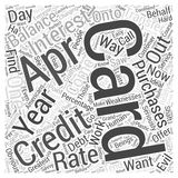Apr credit cards 03 word cloud concept. 0 apr credit cards 03 Royalty Free Illustration