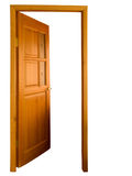 Apra di legno isolato fotografia stock libera da diritti