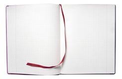 Apra il blocchetto per appunti Fotografia Stock Libera da Diritti