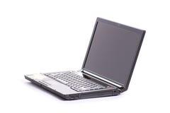 Apra il computer portatile Immagini Stock Libere da Diritti
