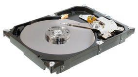 Apra il drive del hard disk dell'alloggio isolato Immagine Stock Libera da Diritti