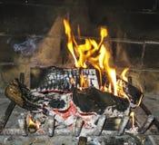 Apra il fuoco Fotografia Stock