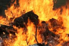 Apra il fuoco Immagini Stock Libere da Diritti