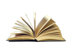 Apra il libro Immagine Stock Libera da Diritti