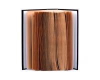 Apra il libro Immagine Stock