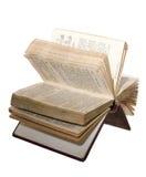 Apra il libro di preghiera Immagini Stock