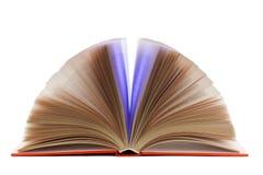 Apra il libro isolato Immagini Stock Libere da Diritti