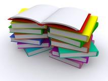 Apra il libro rosso illustrazione vettoriale