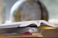 Apra il manuale del banco Fotografie Stock