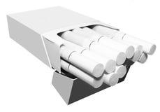 Apra il pacchetto delle sigarette Immagini Stock Libere da Diritti