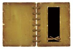 Apra il photoalbum per le foto fotografie stock libere da diritti