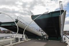 Apra il ponte mobile, Zaanse Schans, Paesi Bassi immagine stock libera da diritti