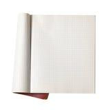 Apra il scrittura-libro Immagine Stock