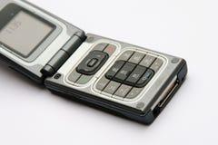 Apra il telefono cellulare fotografia stock