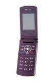 Apra il telefono mobile Fotografie Stock