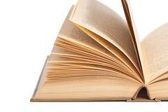 Apra il vecchio libro Fotografie Stock
