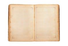Apra il vecchio libro immagini stock