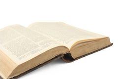 Apra il vecchio libro Immagine Stock