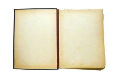 Apra il vecchio libro isolato Retro edizione d'annata fotografia stock libera da diritti