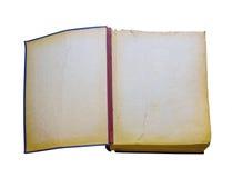 Apra il vecchio libro isolato Retro edizione d'annata Immagine Stock Libera da Diritti