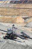 Apra l'escavatore della miniera di carbone Immagini Stock Libere da Diritti