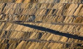 Apra l'estrazione mineraria del taglio Immagini Stock Libere da Diritti