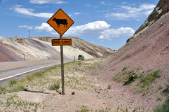 Apra l'intervallo - Utah del sud Fotografie Stock