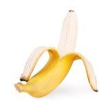 Apra la banana Immagini Stock