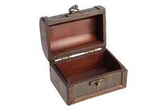 Apra la cassa di legno Fotografia Stock Libera da Diritti
