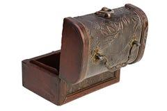 Apra la cassa di legno Immagini Stock Libere da Diritti
