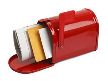 Apra la cassetta delle lettere Immagini Stock