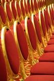 Apra la disposizione dei posti a sedere ad una sala Immagine Stock