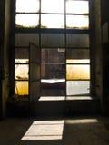 Apra la grande finestra Fotografia Stock