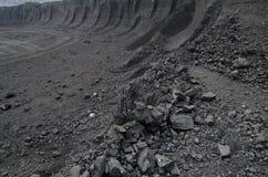 Apra la miniera del carbone fossile Fotografie Stock Libere da Diritti