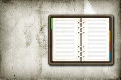 Apra la pagina in bianco Fotografie Stock Libere da Diritti